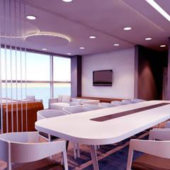 MİMAR TUĞBA ÖZKILIÇ – Çiğli Ofis Projesi:  tarz Ofis Alanları