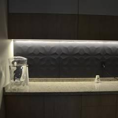 Remodelacion Comerdor Corporativo: Muebles de cocinas de estilo  por OLOR A NUEVO