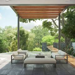 Terraza: Terrazas de estilo  por DELTA