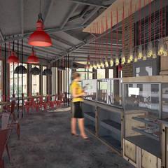Bars & clubs door Kargaraj İç Mimarlık Tasarım Atelyesi