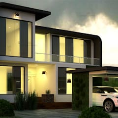 HOW TO FIND THE RIGHT BUILDER FOR YOUR NEW HOME IN KERALA:  Single family home by Monnaie Interiors Pvt Ltd