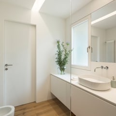appartamento AK: Bagno in stile  di studio di architettura Antonio Giummarra
