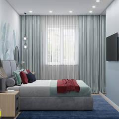 Новая Голландия: Спальни в . Автор – Мастерская интерьера Юлии Шевелевой, Эклектичный