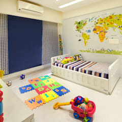 Nursery/kid's room by Urbane Storey, Modern