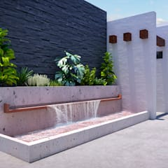 Garden Pond by Francisco Cruz & Arquitectos