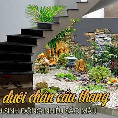 Stairs by Công Ty Thi Công Và Thiết Kế Tiểu Cảnh Non Bộ