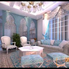 Morrocan Style Interior: Ruang Keluarga oleh CV Leilinor Architect,