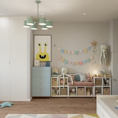 اتاق کودک by Студия архитектуры и дизайна Дарьи Ельниковой