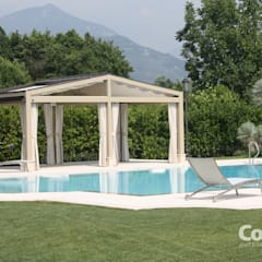 Lean-to roof by Grosso Tende Srl