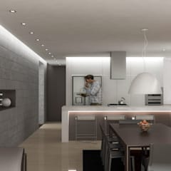 Dining room by RRA Arquitectura
