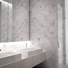 5 Casas en Miami: Baños de estilo  por RRA Arquitectura