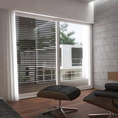 5 Casas en Miami: Cuartos de estilo  por RRA Arquitectura, Minimalista Madera Acabado en madera