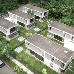 5 Casas en Miami: Jardines de estilo  por RRA Arquitectura