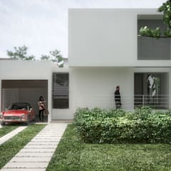 Front yard by RRA Arquitectura