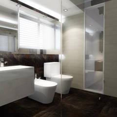 Lomas de Las Mercedes: Baños de estilo  por RRA Arquitectura
