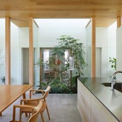 景色を楽しむ家 / View House: 藤原・室 建築設計事務所が手掛けた階段です。