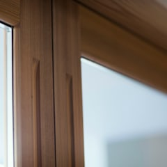 Wooden windows by ELD INTERIOR PRODUCTS