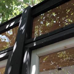 Ventanas de madera de estilo  de Crescente Böhme Arquitectos