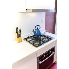 Cocina Luz: Muebles de cocinas de estilo  por Crescente Böhme Arquitectos