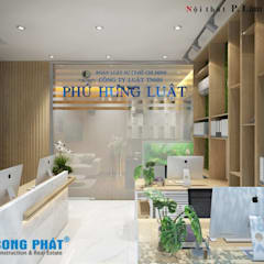: asiatische Arbeitszimmer von Công ty thiết kế xây dựng Song Phát