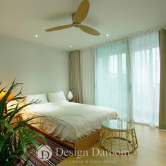 암사동 한강포스파크 25py 침실: Design Daroom 디자인다룸의  침실