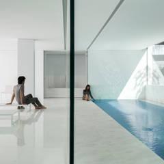 Spa de estilo  por FRAN SILVESTRE ARQUITECTOS