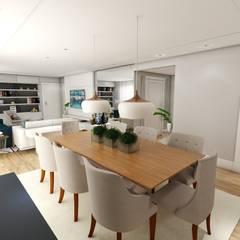 JANTAR E ESTAR: Salas de jantar clássicas por Studio M Arquitetura