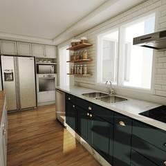 COZINHA CLASSICA: Cozinhas clássicas por Studio M Arquitetura