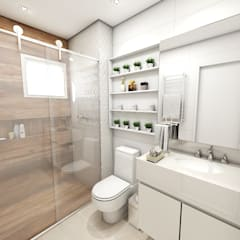 Bathroom by Studio M Arquitetura