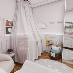 Habitaciones infantiles de estilo  por Studio M Arquitetura