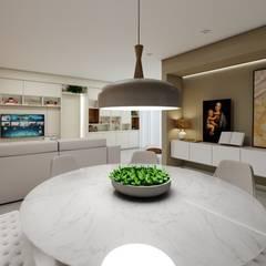 AP DR: Salas de jantar modernas por Studio M Arquitetura