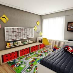 AP DR: Quarto infantil  por Studio M Arquitetura