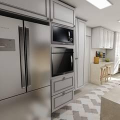 AP CL: Cozinhas clássicas por Studio M Arquitetura