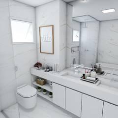 Kamar Mandi by Studio M Arquitetura