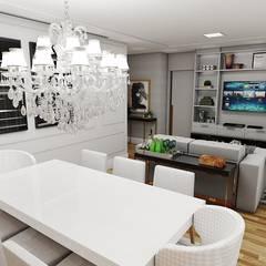 AP CL: Salas de jantar clássicas por Studio M Arquitetura