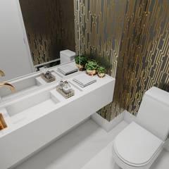 AP CL: Banheiros  por Studio M Arquitetura