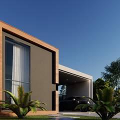 Elementos simples: Casas  por Vortice Arquitetura