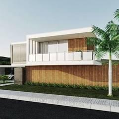 Minimalist house by Studio M Arquitetura Minimalist
