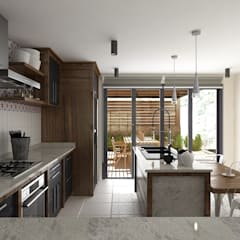 Built-in kitchens by Soma & Croma