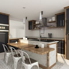 Kitchen units by Soma & Croma,