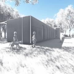 Casas ecológicas de estilo  por BIM Urbano