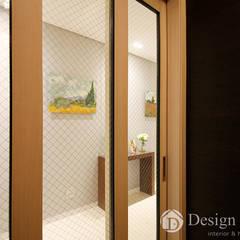 Corridor & hallway by Design Daroom 디자인다룸