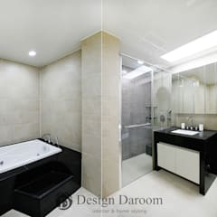 광장동 유진스웰 50py: Design Daroom 디자인다룸의  욕실