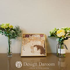 광장동 유진스웰 50py: Design Daroom 디자인다룸의  침실,클래식
