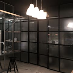 Office buildings by 디자인스튜디오참