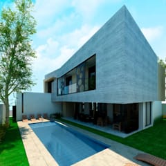 Garden Pool by Facere Arquitectura