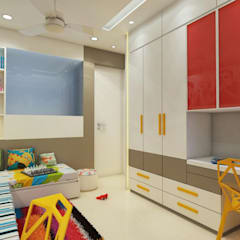 Kids room :  Teen bedroom by n design studio