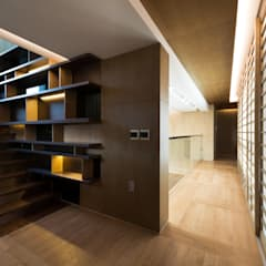 Escaleras de estilo  por Design Tomorrow INC.