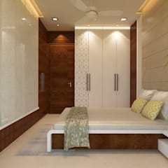 Guest Bedroom : Bedroom By N Design Studio