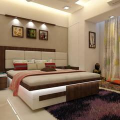 Bedroom : modern Bedroom by n design studio